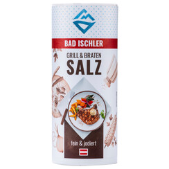 BAD ISCHLER barbecue & steak salt 90g