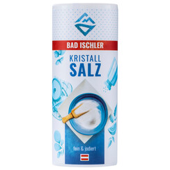 BAD ISCHLER crystal salt fine & iodised 200g