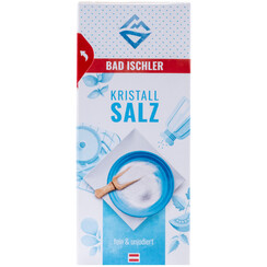 BAD ISCHLER crystal salt fine & uniodised 500g