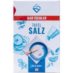 BAD ISCHLER table salt fine & iodised 1,5kg